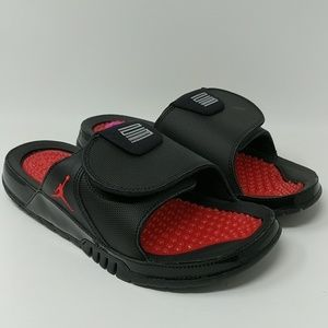 quality design c48a4 7a09b Nike Shoes - Nike Air Jordan Hydro XI 11 Retro Bred Slides New
